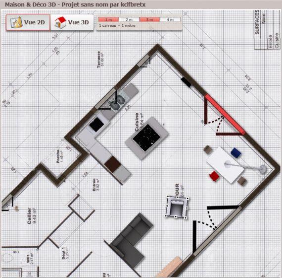 Plan de la maison    wwwmaison-deco 2d-3d Plans de