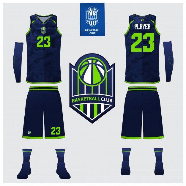 d3ff88793a86 Basketball jersey template design Premium Vector
