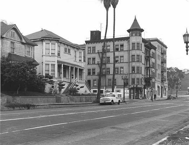 Looking Back At The California Incline Before It Disappears Santa Monica Los Angeles History Santa Monica Beach