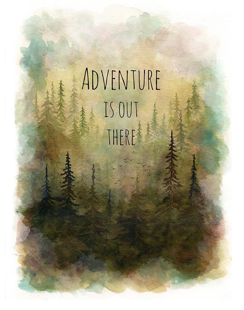 Adventure Is Out There Print Adventure Is Out There Art