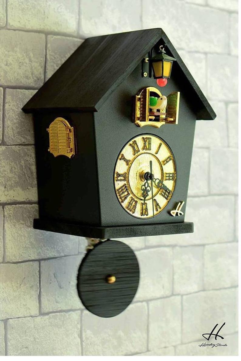 Cuckoo Clockmodern Cuckoo Clockwall Clockcou Cou Clockwall Etsy Cuckoo Clock Diy Clock Wall Modern Cuckoo Clocks