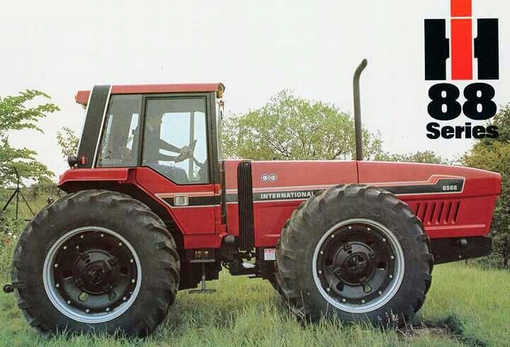 International Harvester anteater Tractors Case IH Grotraktoren