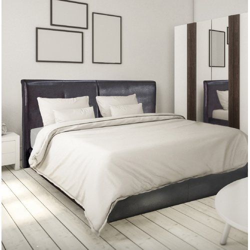 Three Posts Hartfield Upholstered Bed Frame Upholstered Bed Frame Upholstered Beds Bed Frame