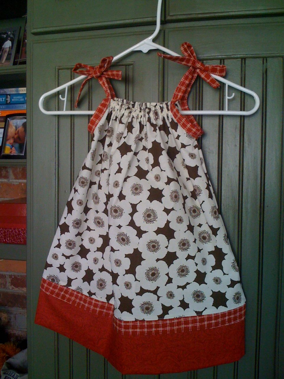 Pillowcase dress….adorable on my niece Kaitlyn