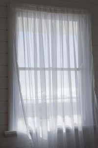 How To Make A Tension Rod Sheer Curtains Sheer Curtain Panels