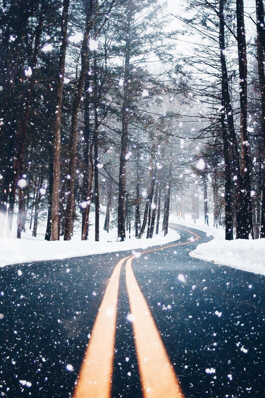 Hipster Winter And Snow Image On We Heart It