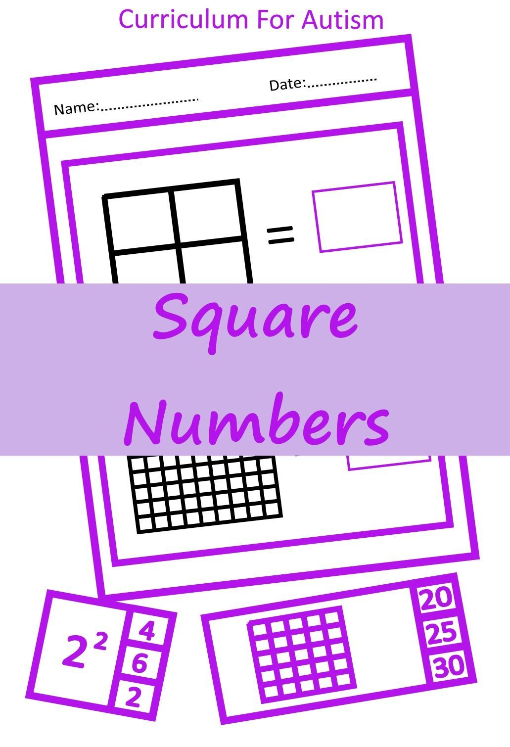 27 Square Numbers Worksheet Kids Worksheets