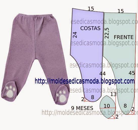 e03c20481d1326 CALÇA DE BEBÉ FÁCIL DE FAZER-1 | Creative - Sewing | Molde de roupas ...