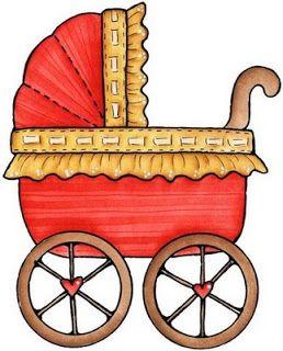 Dibujos Coloreados Carritos De Bebe Imagenes Y Dibujos Para Imprimir Paginas De Bebes Laminas Infantiles Tarjetas De Ninos