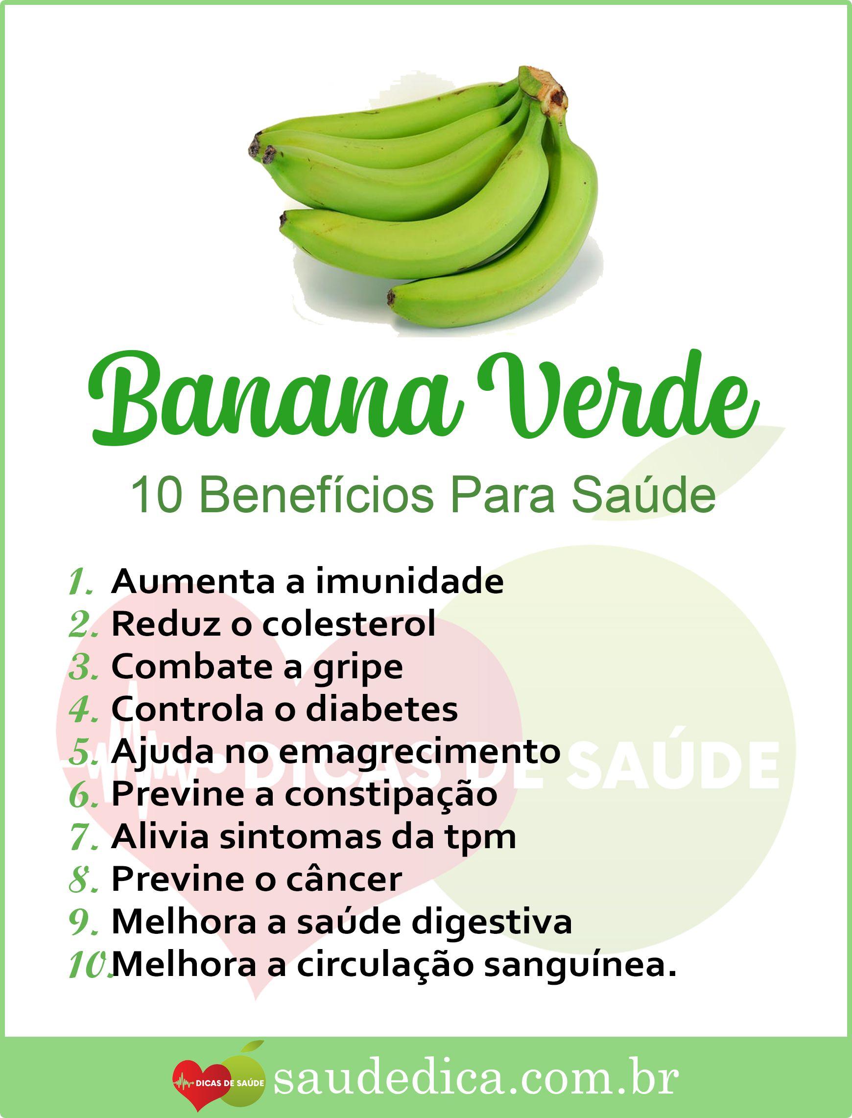 Os 12 Beneficios Da Banana Verde Para Saude Com Imagens