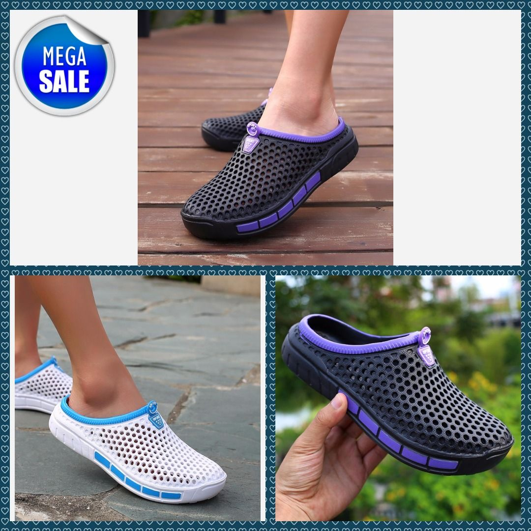 e74ed21bab779 Summer Croc Clogs Slip On Garden Gallery Beach Sandals Flip Flop Women  Casual Water Aqua Slipper Swimming Classic Shoes  womens  womensclothing   dresses ...