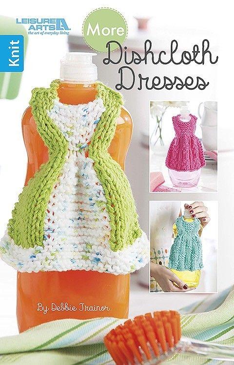 More Dishcloth Dresses Detergent Bottles Bottle And Crochet