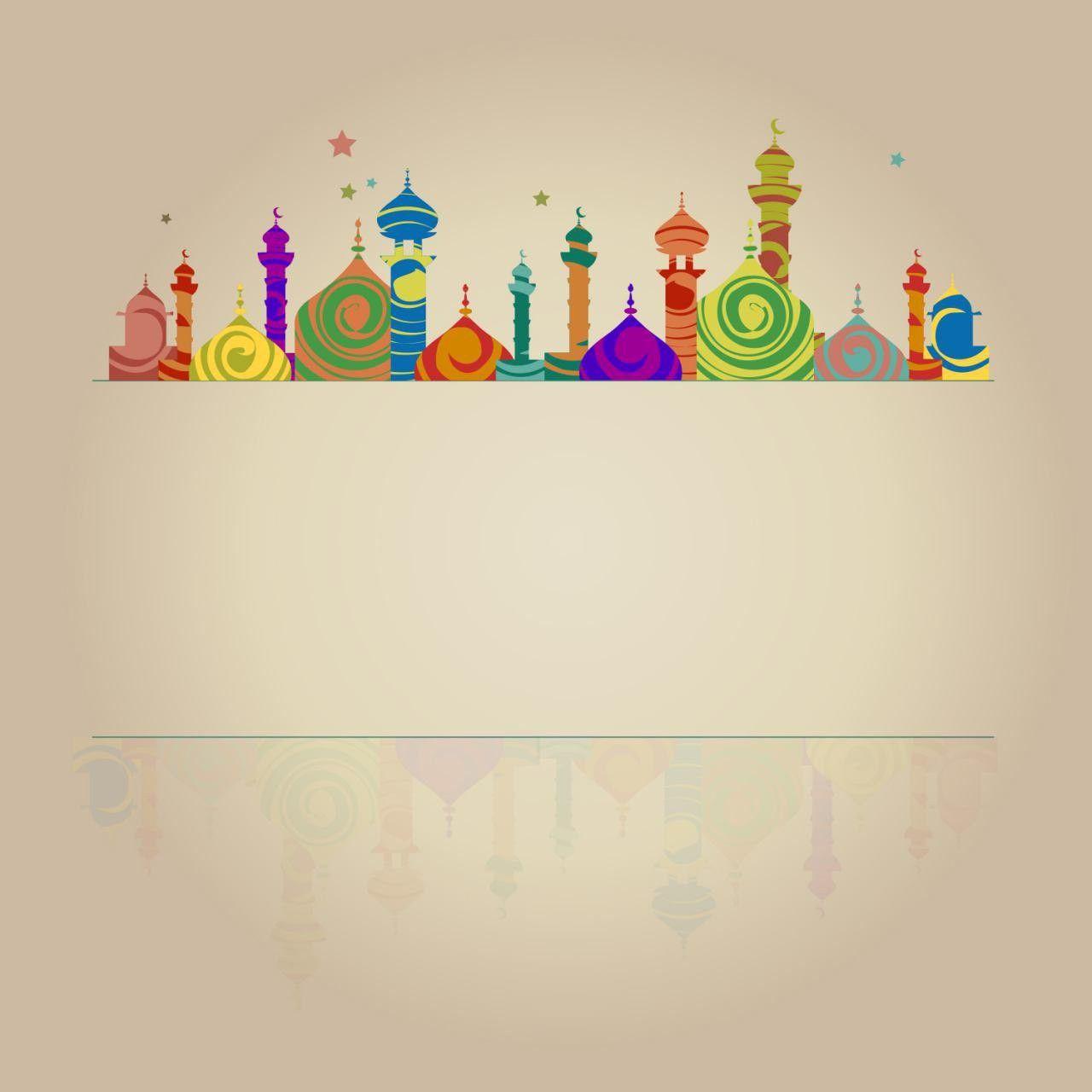 Pin Oleh Altamash Aly Di رمضان Seni Islamis Desain Banner Seni