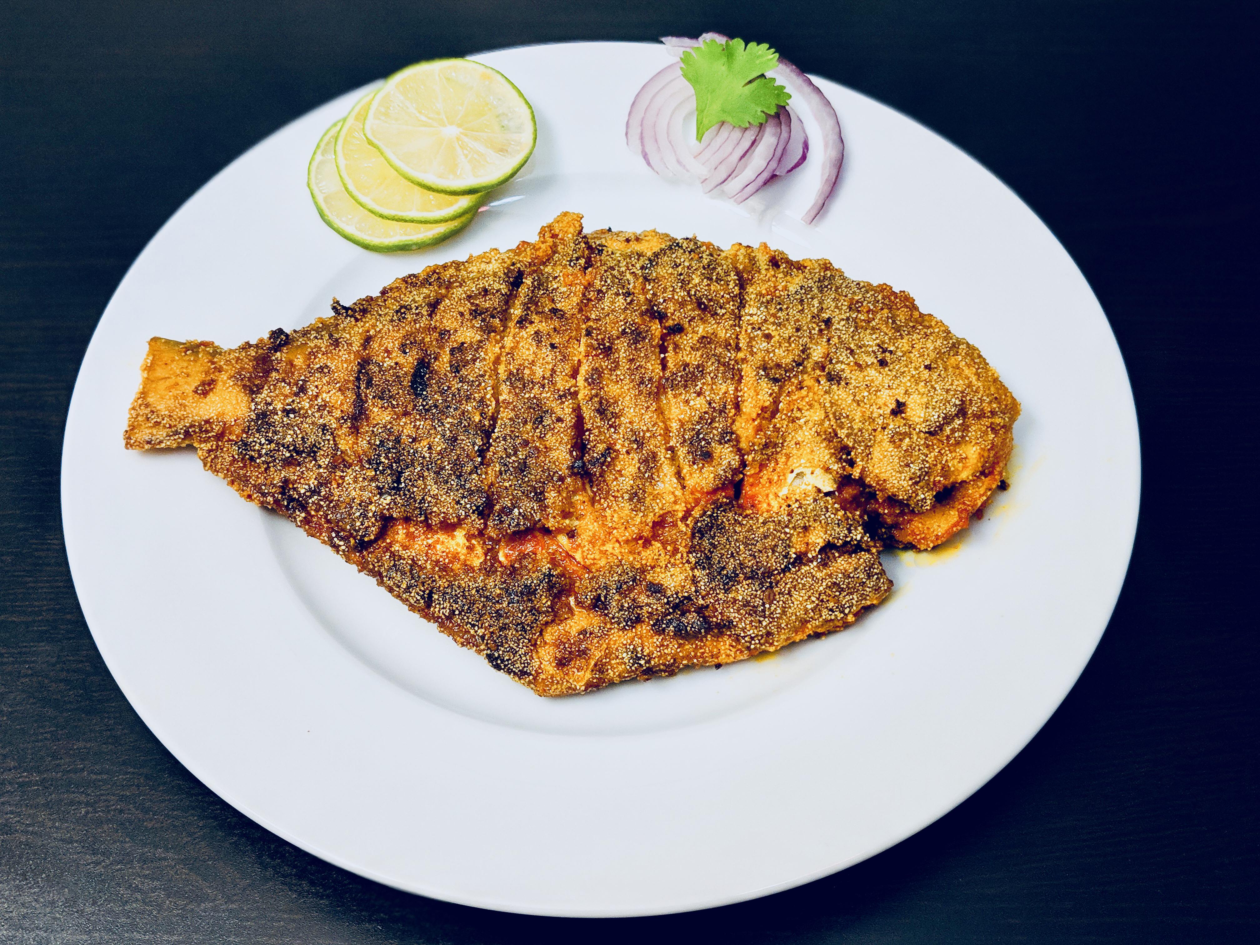 Homemade Rawa Semolina Fish Fry Food Fried Fish Fried Food