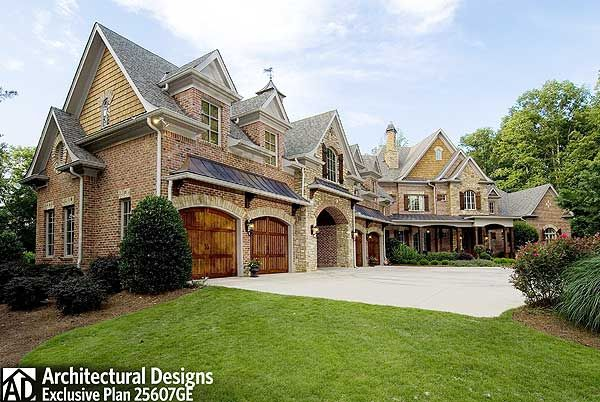 Exclusive Elegance Personified Country House Plans French Country House Plans Luxury House Plans