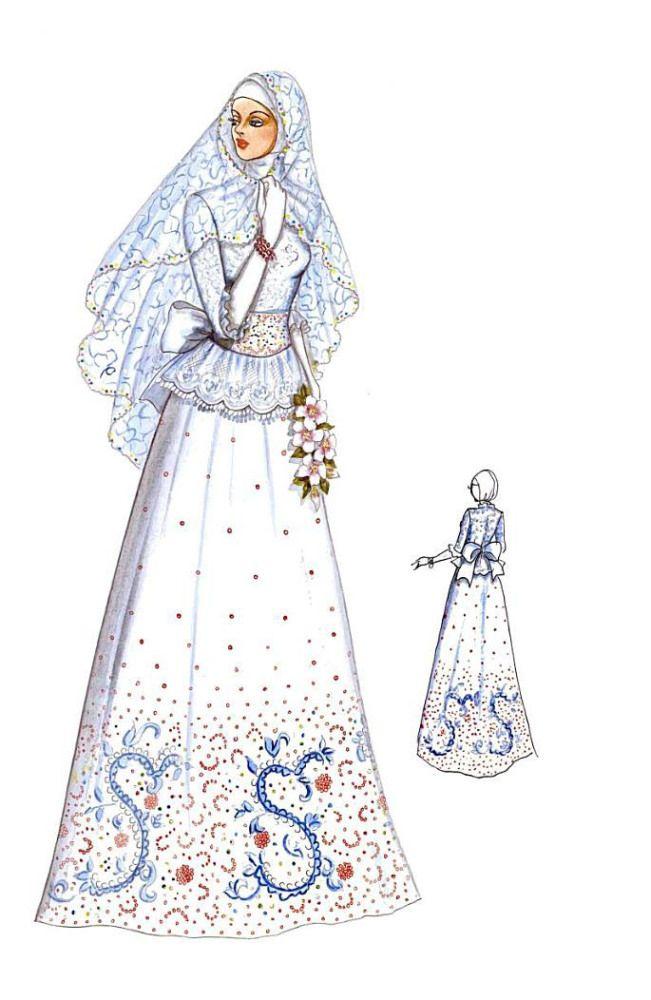Kebaya Dan Gaun Pengantin Muslim Wedding Dress N Kebaya