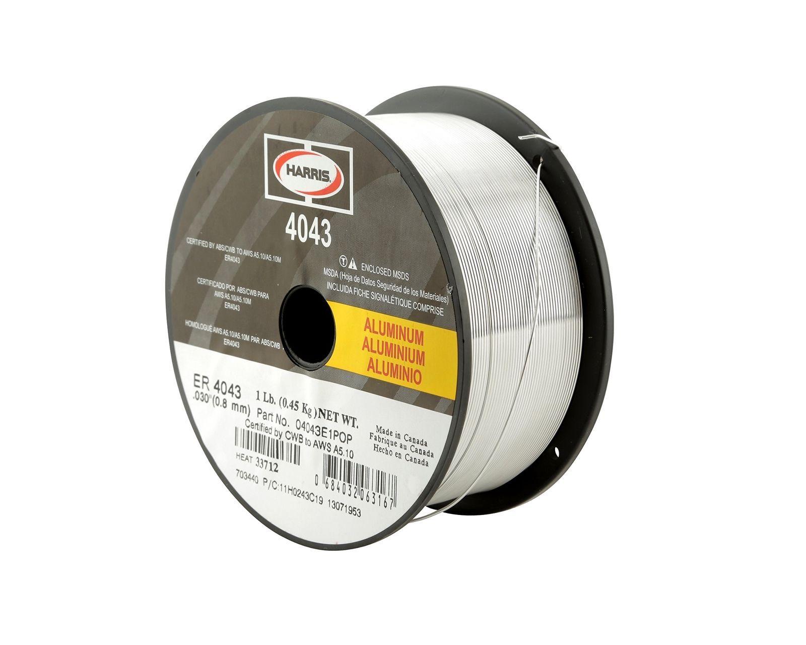 Harris 0404327 4043 Aluminum Mig Welding Wire 3/64\