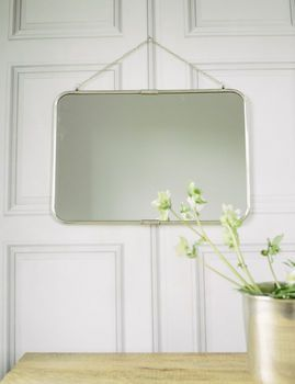 Antique Silver Wall Mirror ** And this... HM**