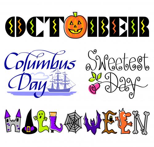 Month Of The Year October Kidspressmagazine Com Happy Columbus Day Clip Art Free Clip Art