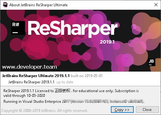 JetBrains ReSharper Ultimate 2019 1 1 » Developer Team :: Best