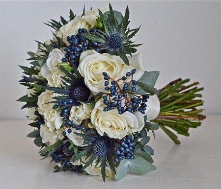 Winter Wedding Bouquet Design by Fiori By Lynne at www