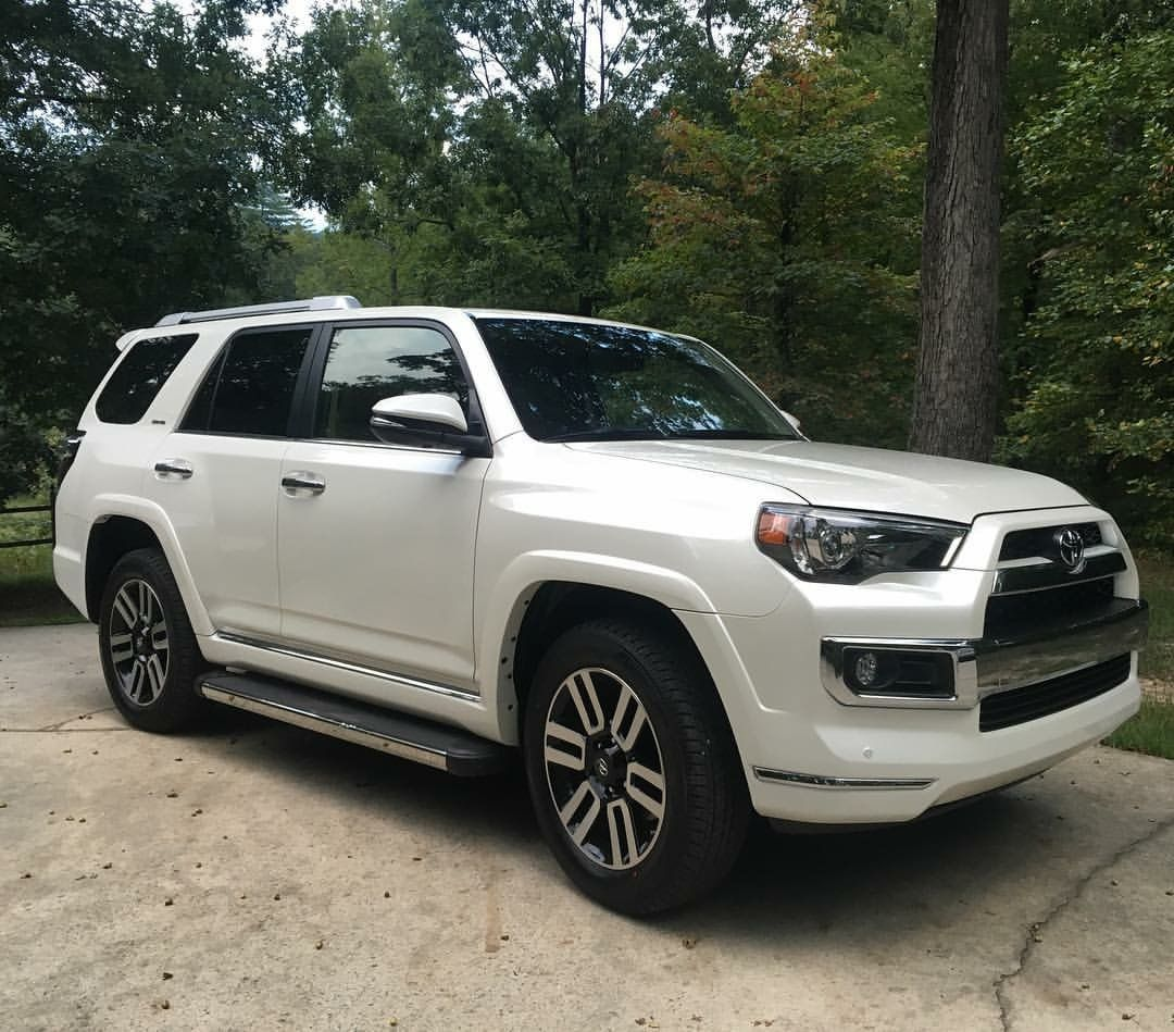 2016 Toyota 4Runner fully loaded...pearl white! Grandma