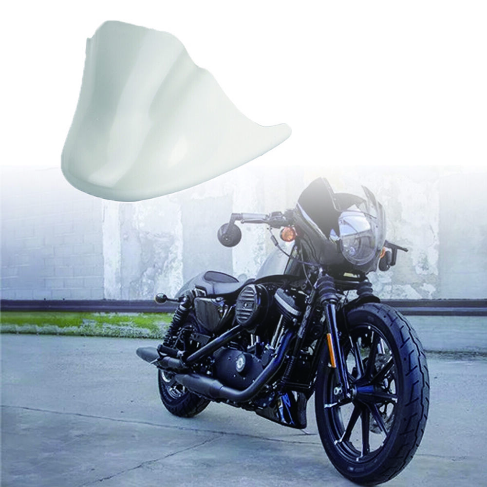 Advertisement Ebay New White Lower Front Chin Spoiler Air Dam Fairing Cover For Harley Motorcycle Motorcycle Harley Harley Motorcycle Parts And Accessories