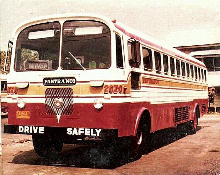 Pantranco Bus Aec Diesel Late 70 S Bus Coach Philippines Culture Bus