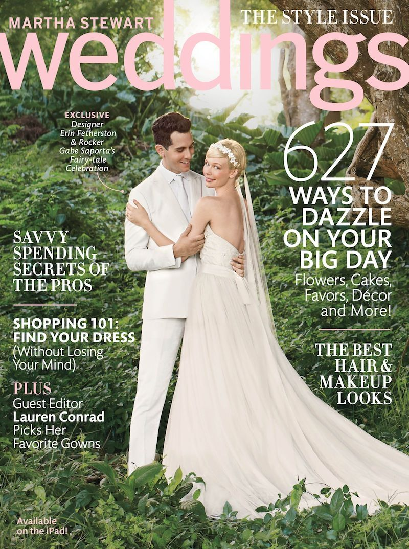 Here S An Exclusive Look Inside Martha Weddings Magazine Fall 2017 Featuring Guest Editor Laurenconrad