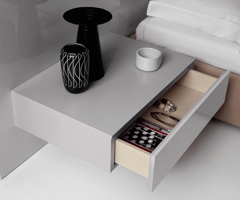 Novamobili Nachttisch Easy 1 Schublade Schubladen Design