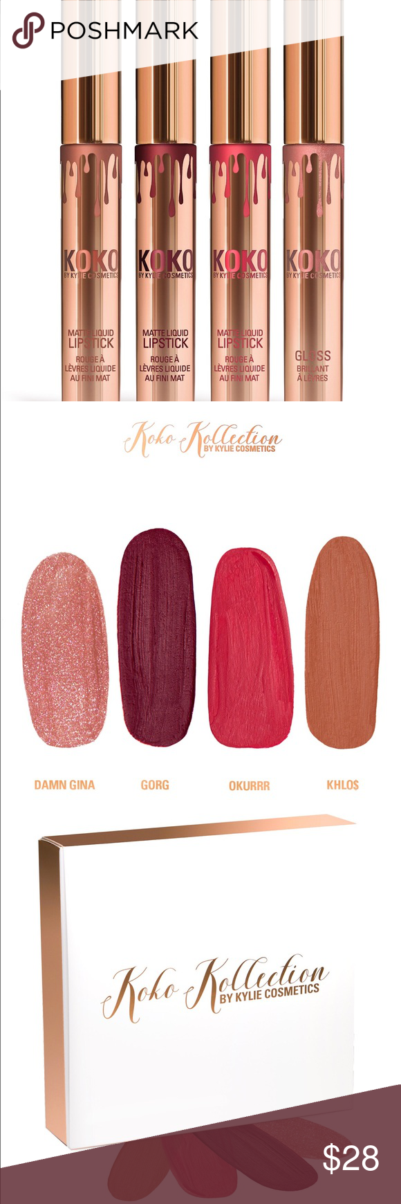 KHLO$ KoKo Kollection NWT Authentic Koko Kollection Matte
