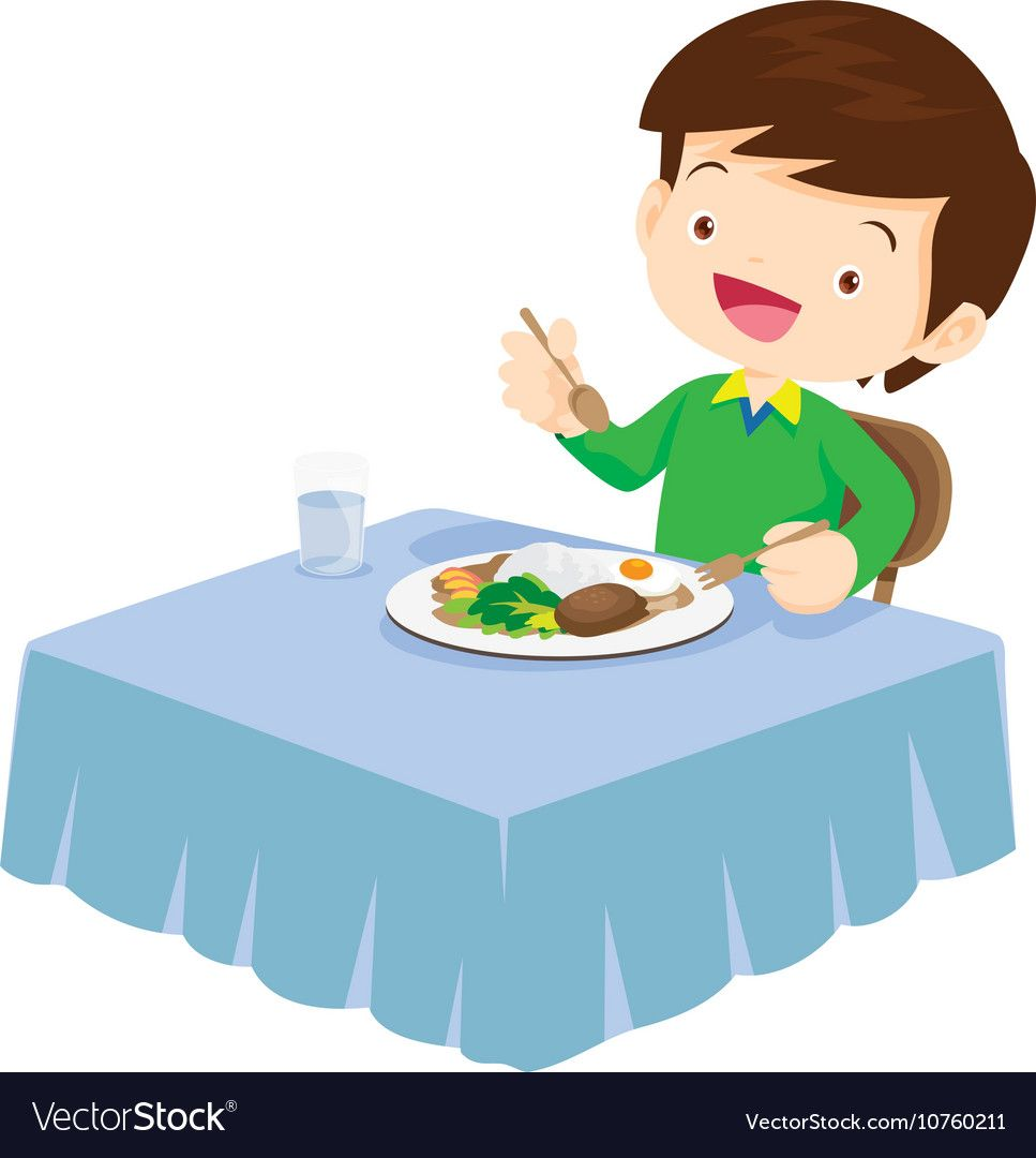 23+ Happy Kids Eating Cartoon Background