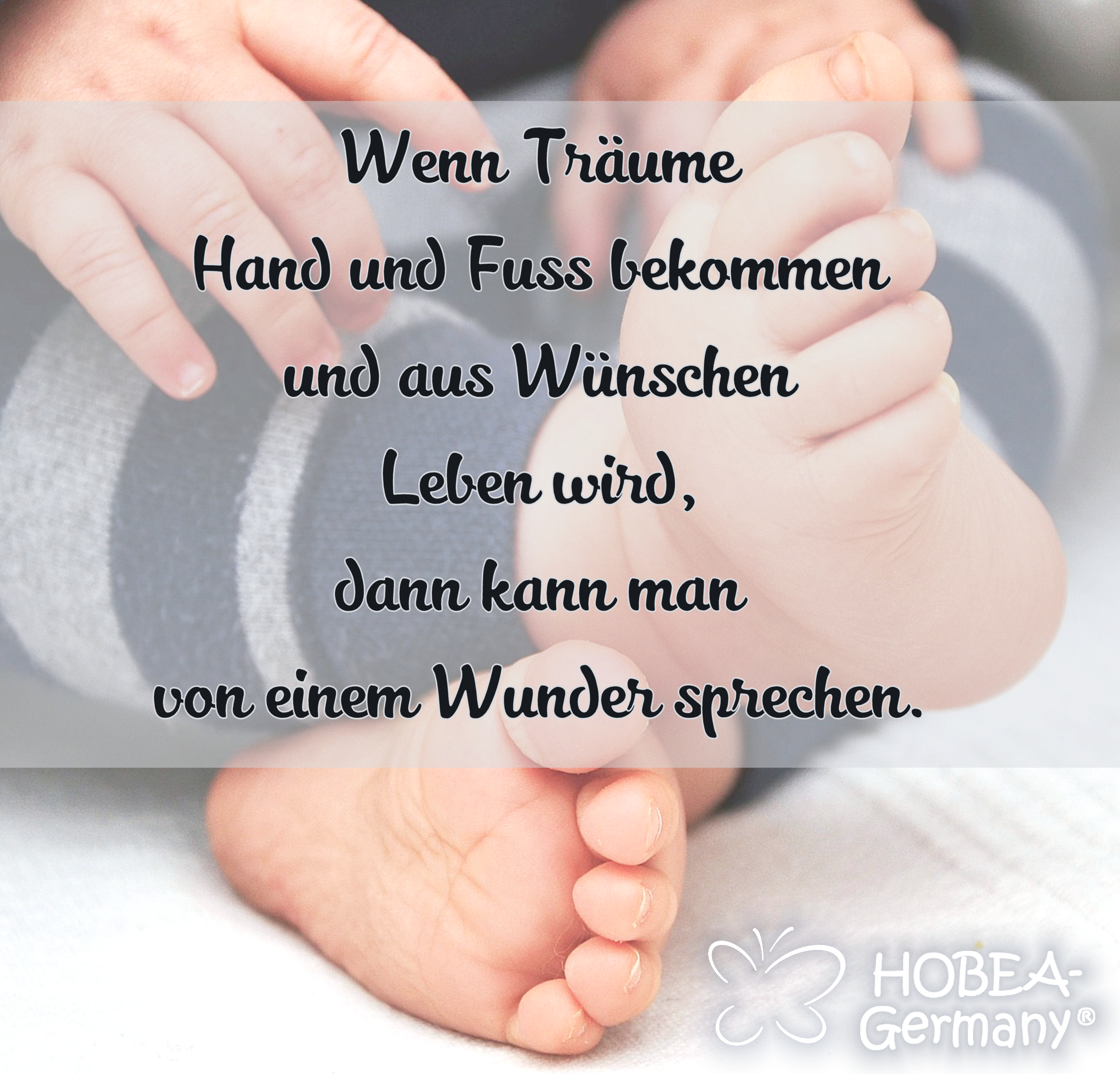 babyspruch spruch zur geburt baby quote wenn. Black Bedroom Furniture Sets. Home Design Ideas