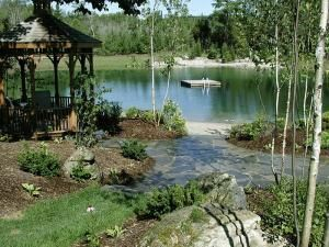 A dip in the pond landscape green for life for Garden design ideas ontario