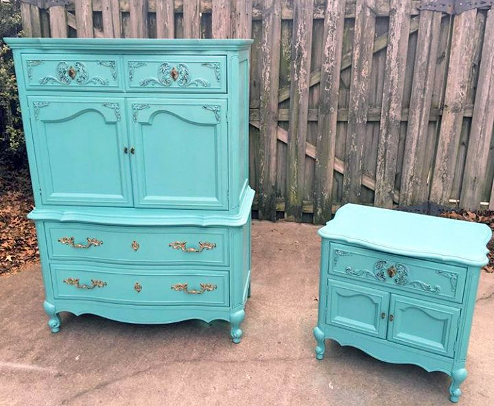 General Finishes Key West Blue Chalk Style Paint Is The Perfect Combination Of Charm And Sophistication