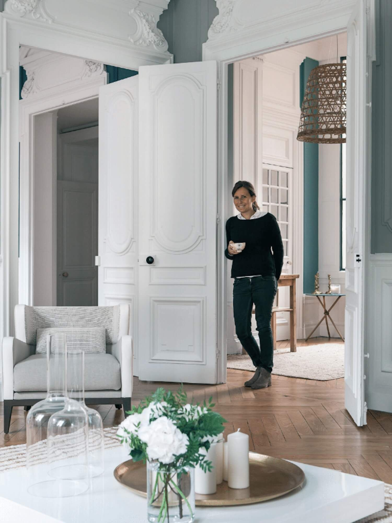Lyon Apartment Global Interiors Design Est Living Apartment Renovation Georgian Interiors Interior Design