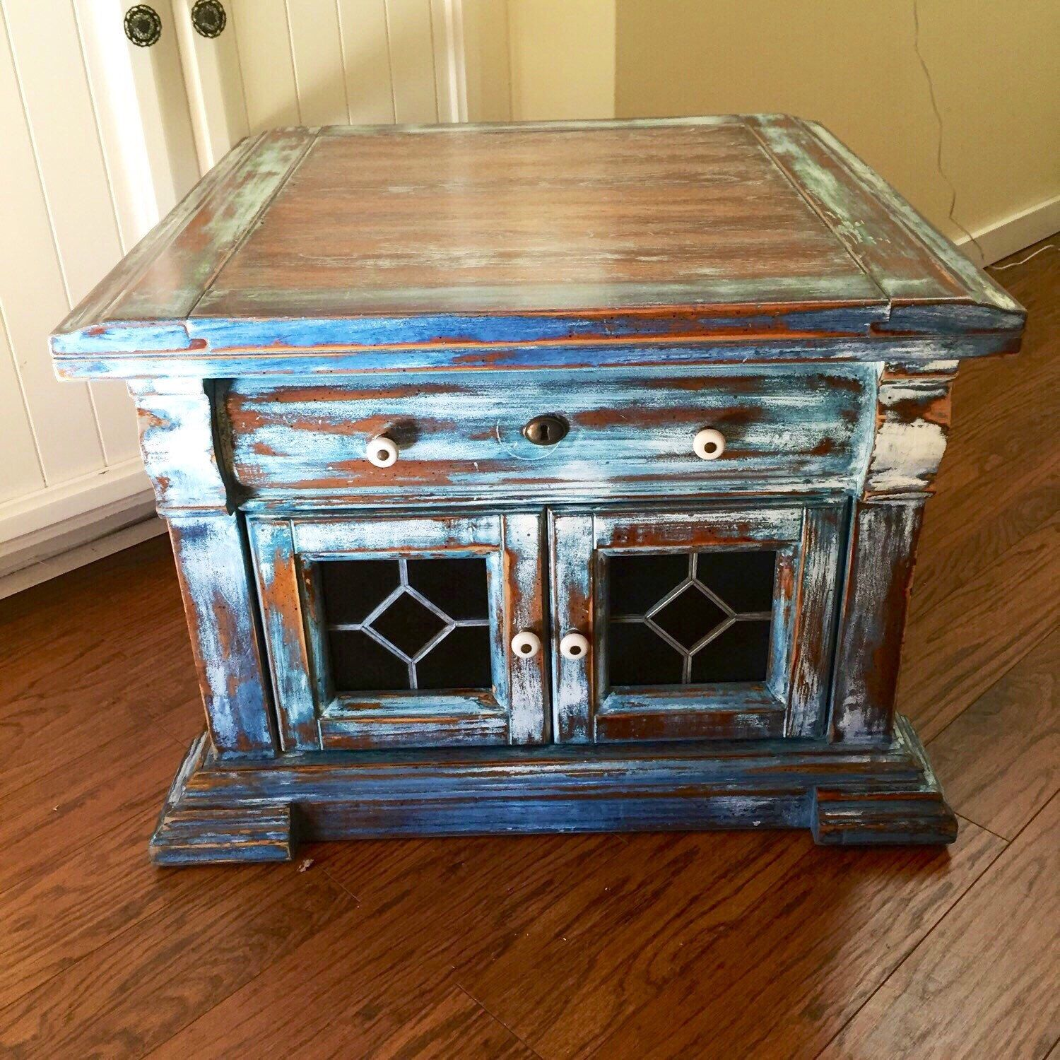 Stained Glass Coffee Table Sold Stained Glass Coffee Table Vintage French Country Side