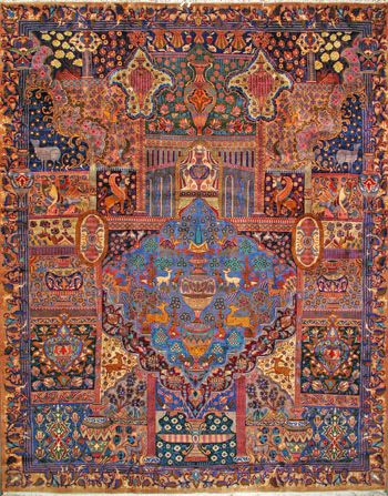 Kashmar Persian Rug Buy Handmade Kashmar Persian Rug 9 11 X 12 10 Authentic Persian Rug Antiquecarpet Antiquecarpets Persian Rug Rugs Rugs On Carpet