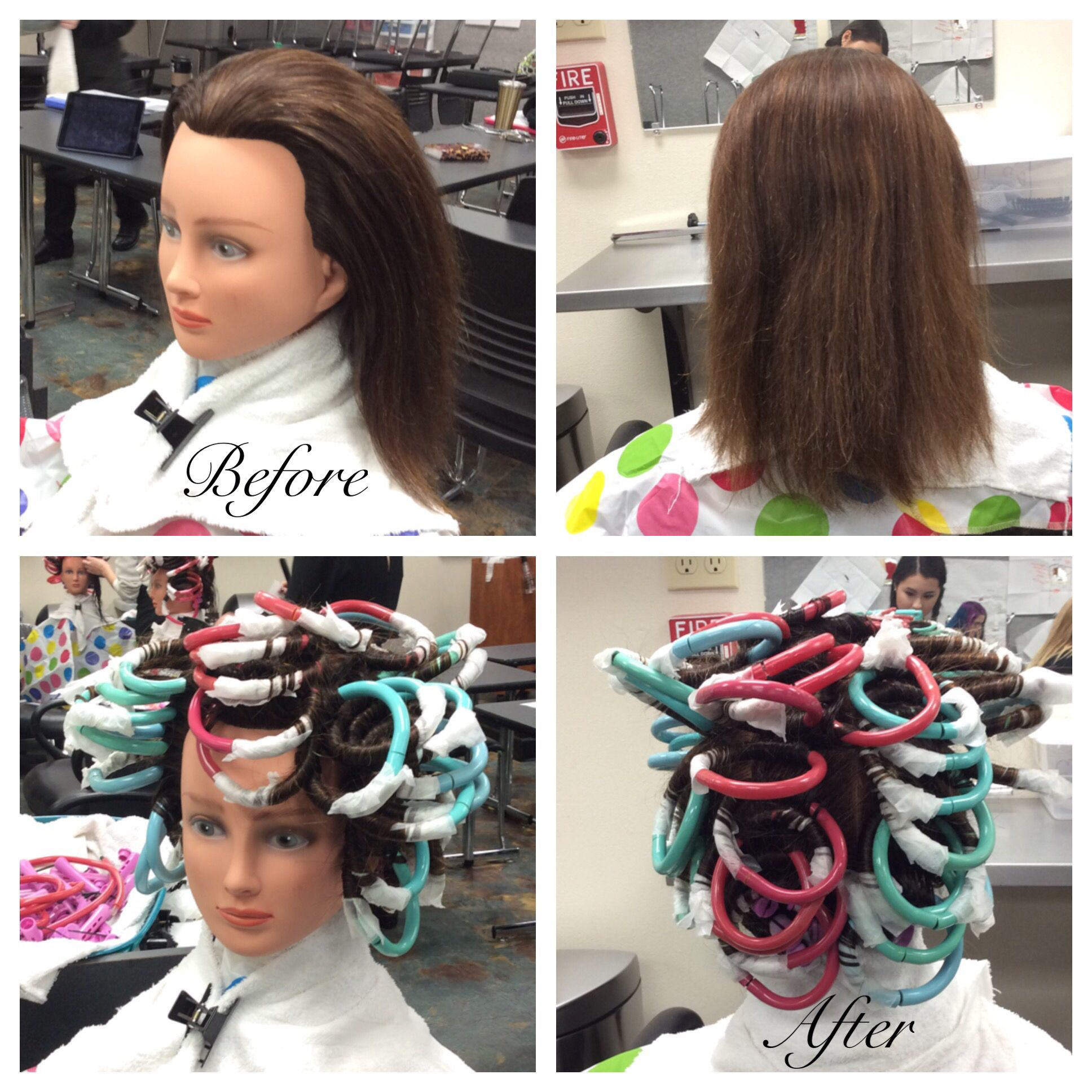 Straight perm yahoo answers - Specialty Perm Wrap Using Boom Rods And Straight Back Sectioning 11 30 2015
