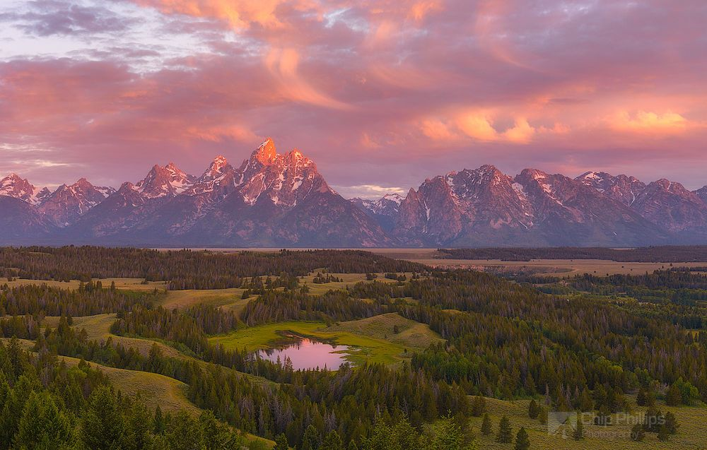 Teton Pond Sunrise by Chip Phillips on 500px
