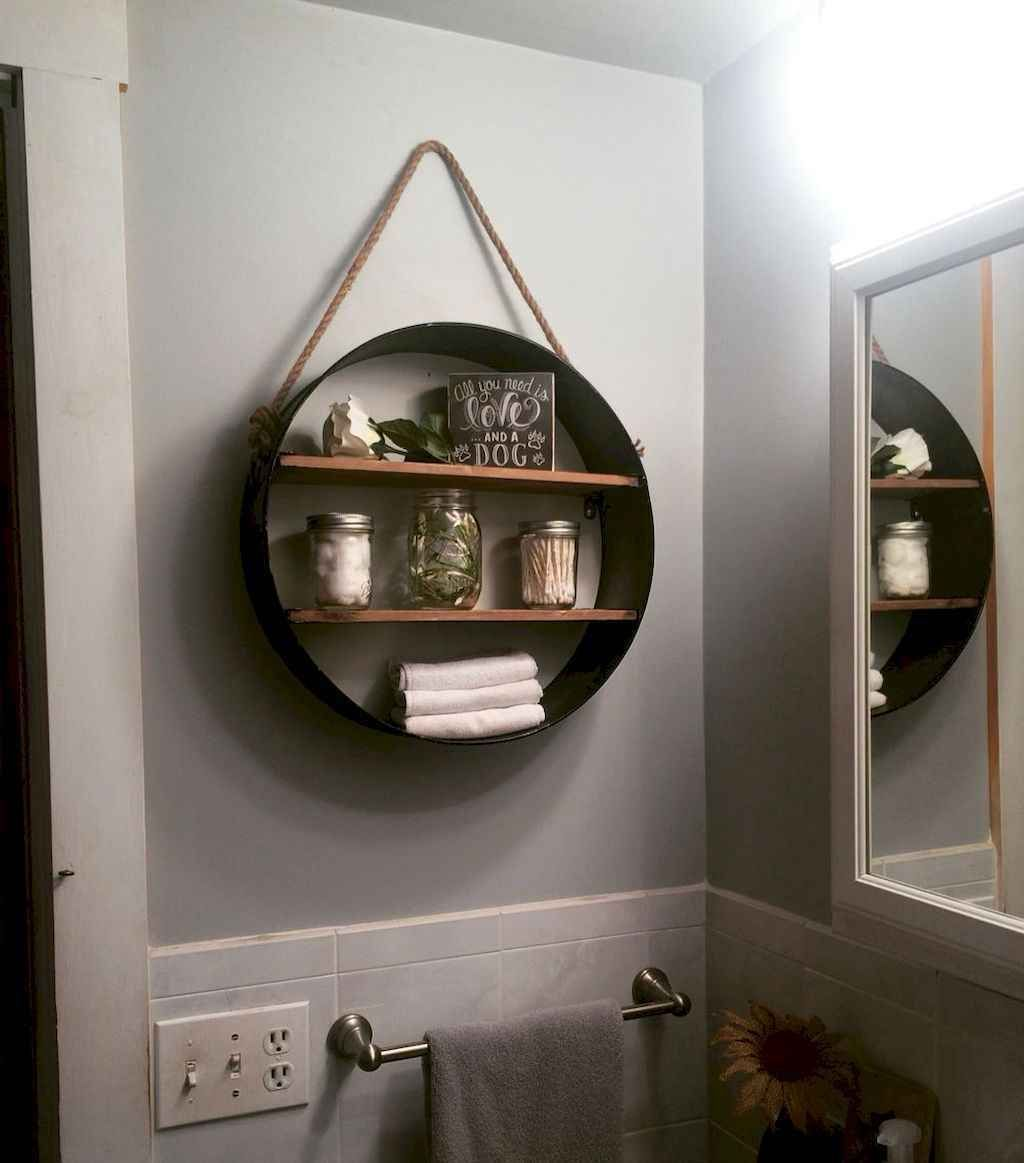 60 Diy Rustic Bathroom Floating Shelves Ideas Bathroom Diy Floating Ideas Rustic Shelves In 2020 Bathroom Decor Rustic Bathroom Shelves Bathroom Wall Shelves