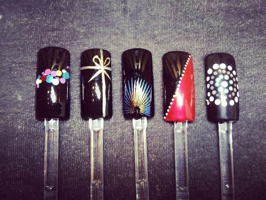 Pin by Nails by Fi on Nail art samples | Pinterest