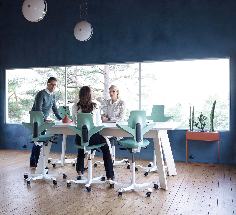 Hag Capisco Puls By Peter Opsvik For Flokk Architonic Nowonarchitonic Interior Design Furniture Office Seatin Ergonomic Seating Furniture Office Seating
