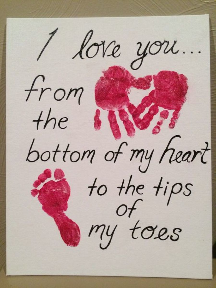 45++ Mothers day ideas with baby footprints ideas