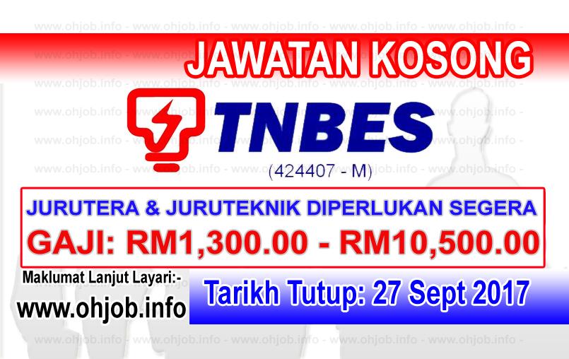 Jawatan Kosong TNBES TNB Energy Services (27 September