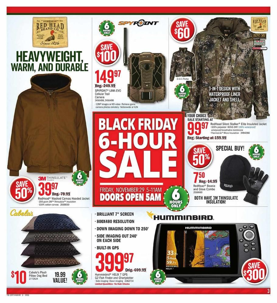 Cabelas And Bass Pro Shops Black Friday Ad Scan Deals And Sales 2019 Black Friday Shopping Cabelas Black Friday