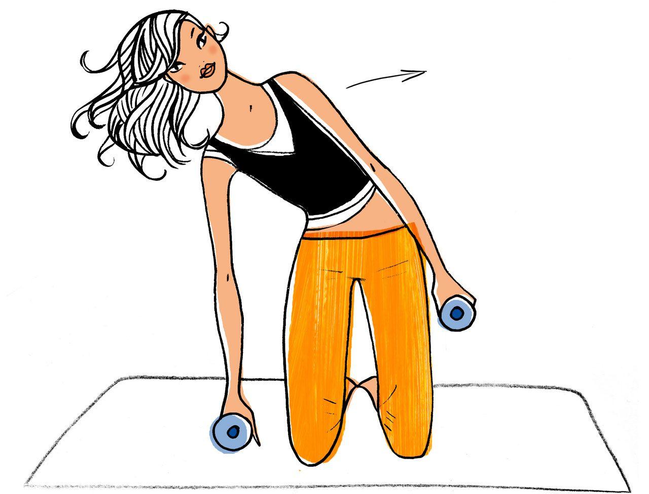 Dimanche   spécial taille fine - Ma semaine fitness pour maigrir   8 minutes  par jour 094ce854545e