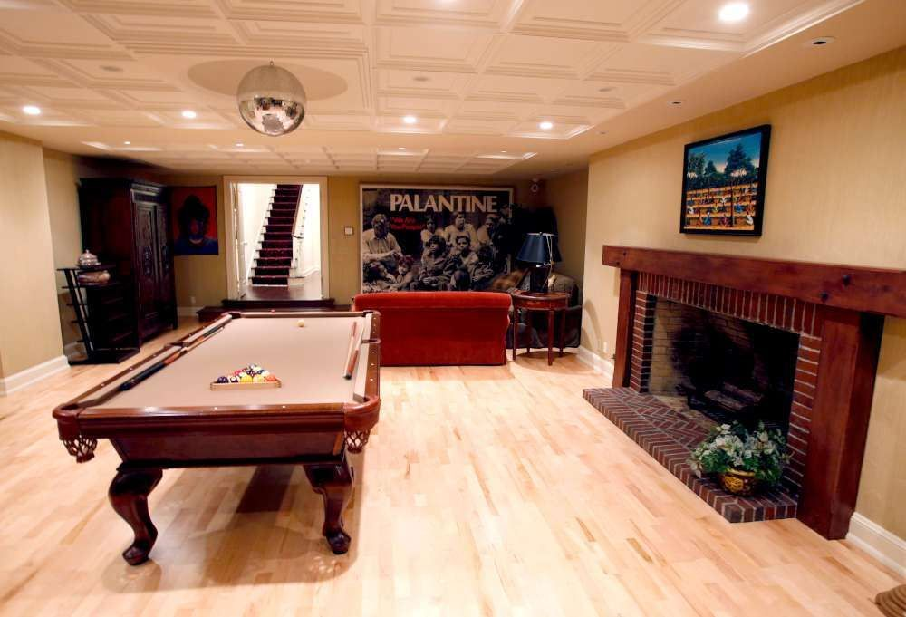 Rec Room With Wine Cellar 69581am: Game Or Rec Room With Pool Table --- 1777 W Bradley Rd