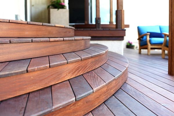 Best Ipe Curved Stairs Wood Deck 400 x 300