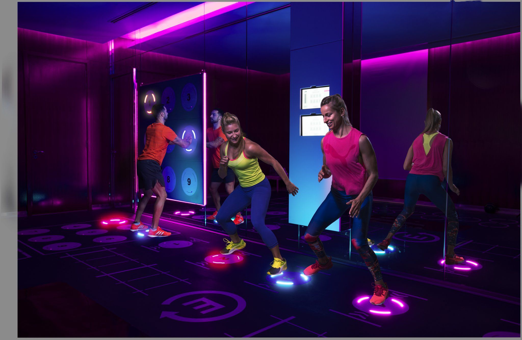 This Fitness Class Will Remind You Of The School Playground But Actually Burns 1 000 Calories Gym Design Workout Review Fitness